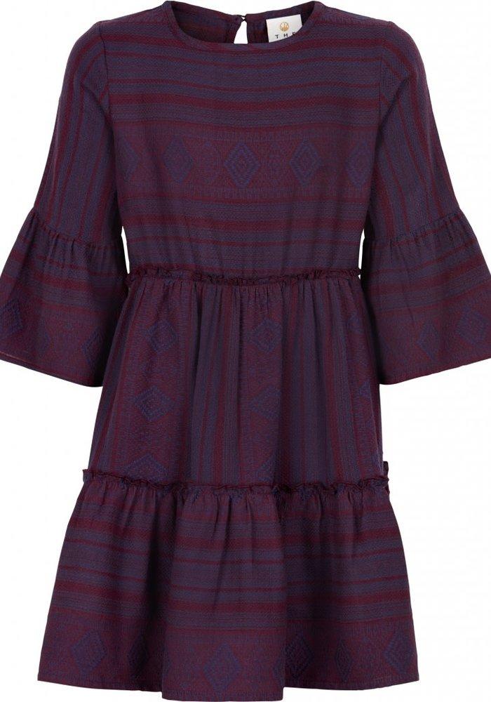 The New Focie Longsleeve Dress Black Iris