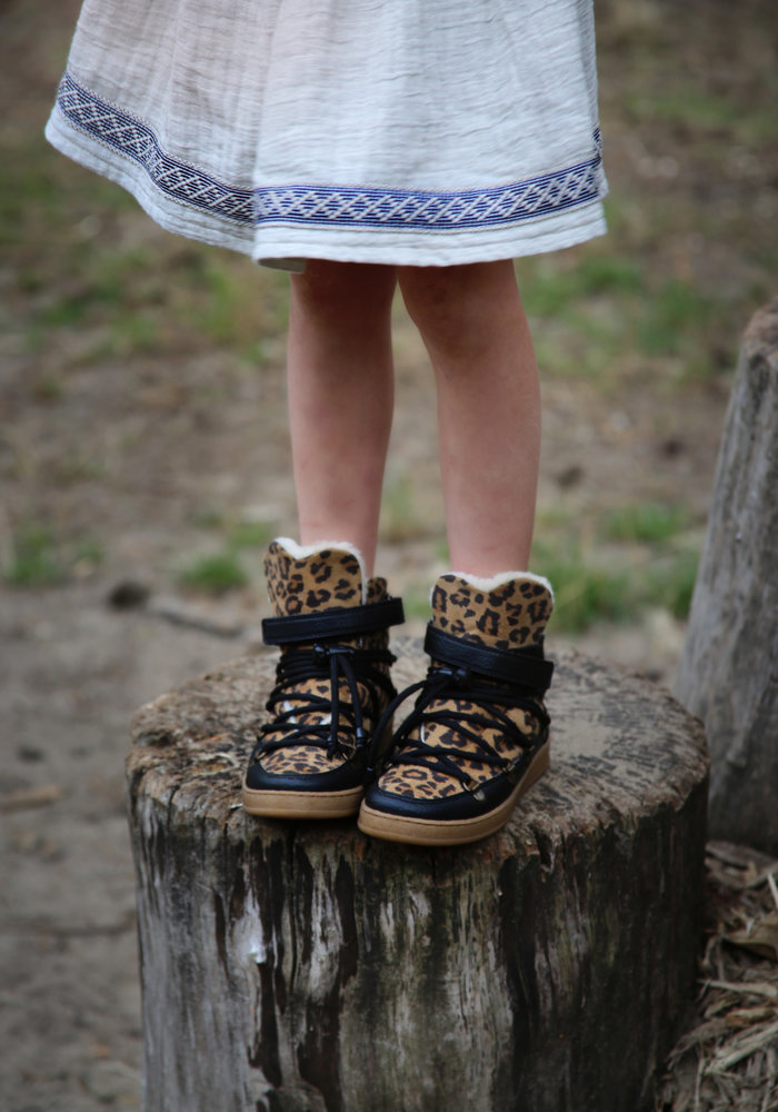 Bear & Mees Snowboots Leopard