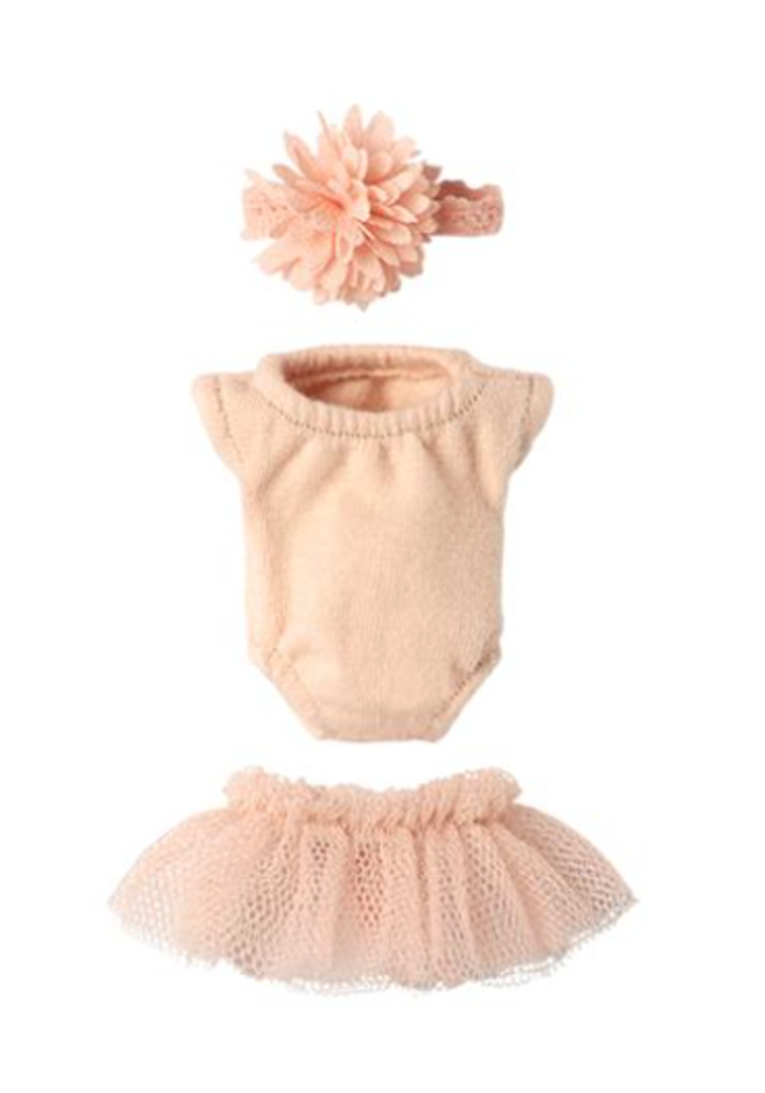 Maileg Micro Mouse Gymsuit Set