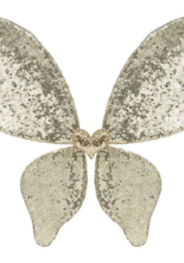 Mimi & Lula Sparkle Sequin Wings Gold