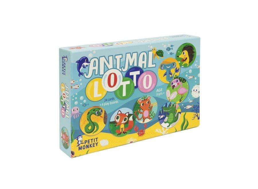 Petit Monkey Animal Lotto