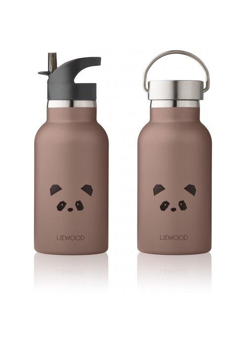 Liewood Liewood Anker Water Bottle - Panda Dark Rose