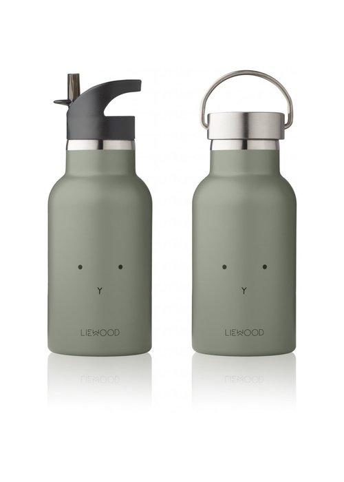 Liewood Liewood Anker Water Bottle - Rabbit Faune Green