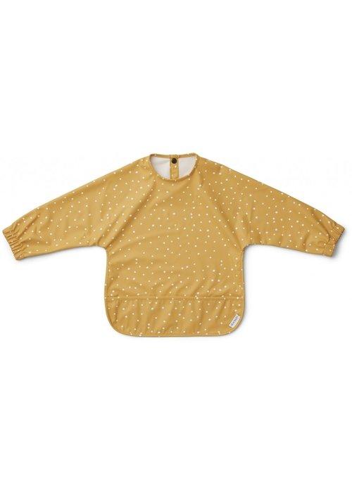 Liewood Liewood Merle Cape Bib Confetti Mellow Yellow