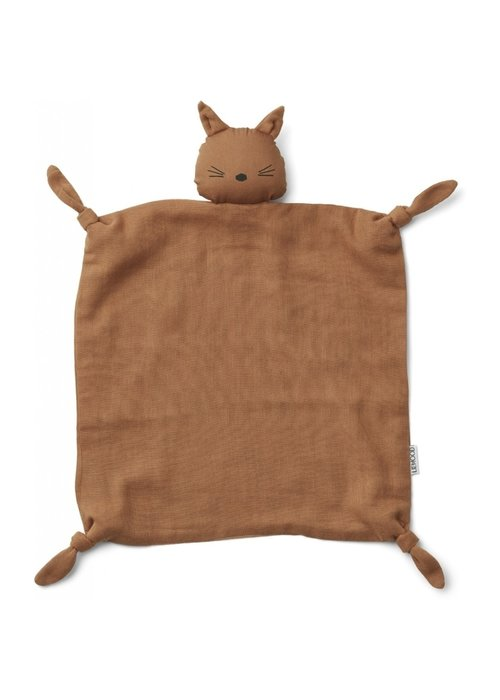 Liewood Liewood Agnete Cuddle Cloth Cat Terracotta