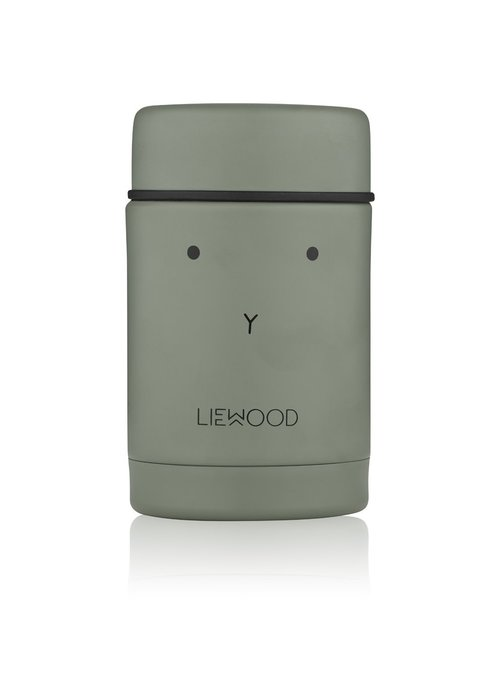 Liewood Liewood Nadja Food Jar Rabbit Faune Green