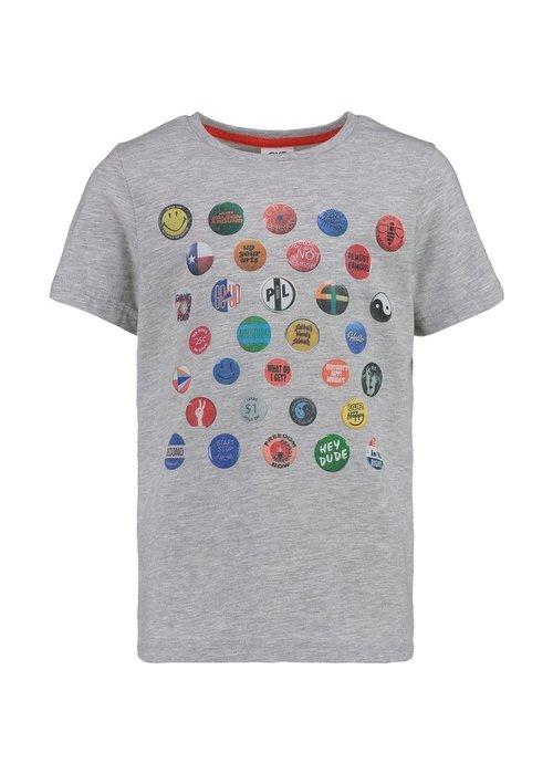CKS CKS Yeroom T-shirt Grey Melee