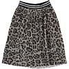 Molo Molo Bailini Skirt Silver Leopard