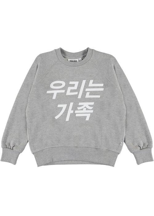 Molo Molo Majana Sweatshirt Grey melange