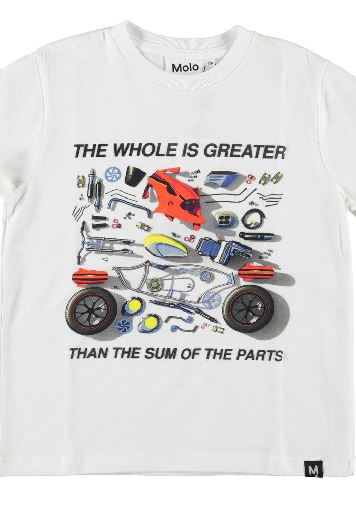 Molo Roxo T-shirt Motorcycle Parts