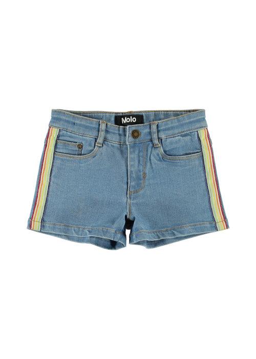Molo Molo Angelina Shorts Light Blue Denim