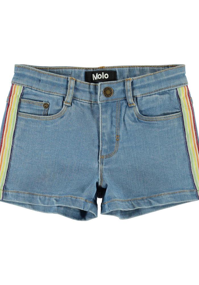 Molo Angelina Shorts Light Blue Denim