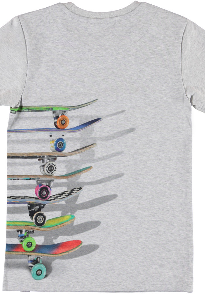 Molo Raven T-shirt Stacked Skateboards