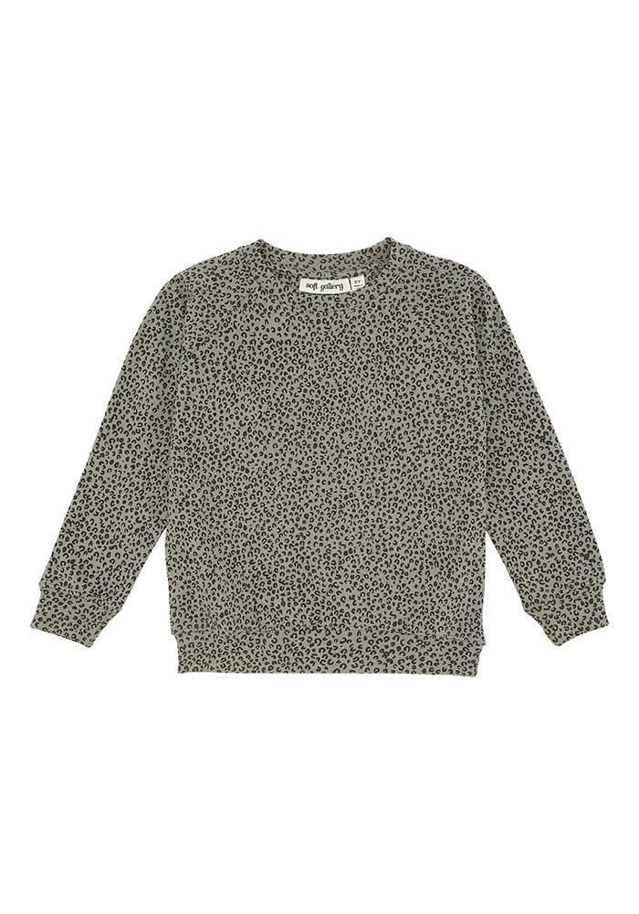 Soft Gallery Chaz Sweatshirt Shadow Leopspot