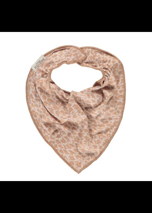 MarMar MarMar Baby Dry Bib Rose Stone Leopard