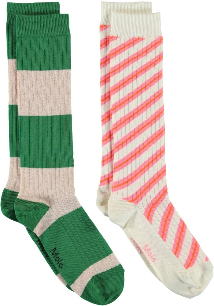 Molo Norvina Knee Socks Pearled Ivory