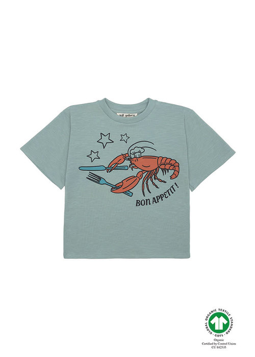 Soft Gallery Soft Gallery Asger T-shirt Jadeite Bon Appetit