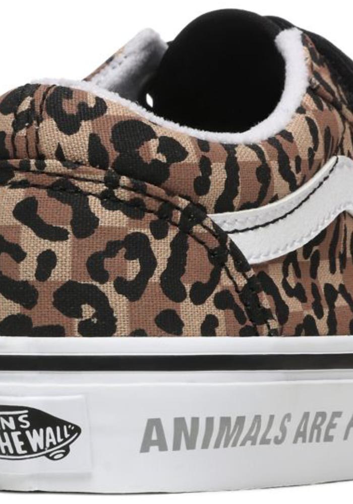 Vans Old Skool Velcro Leopard/Black
