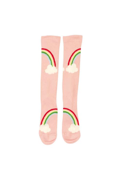 Wauw Capow by BangBang CPH Wauw Capow Good Day Knee Socks Pink