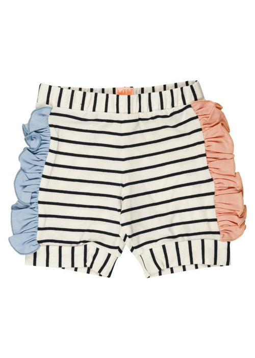 Wauw Capow by BangBang CPH Wauw Capow Pop Shorts Black and White Stripes
