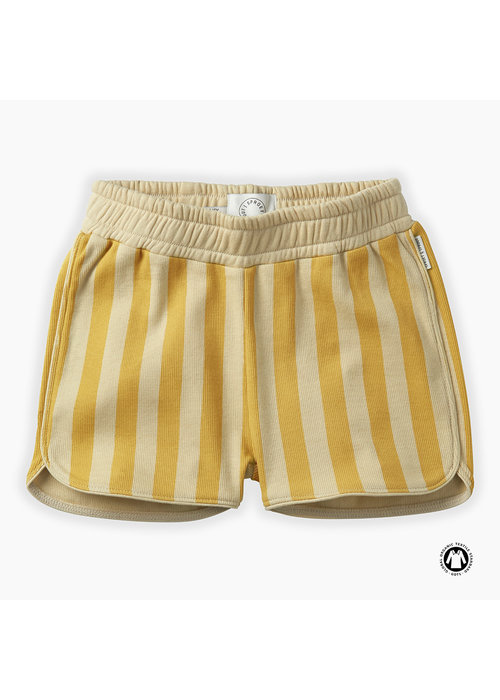 Sproet & Sprout Sproet & Sprout Shorts Stripe Curcuma