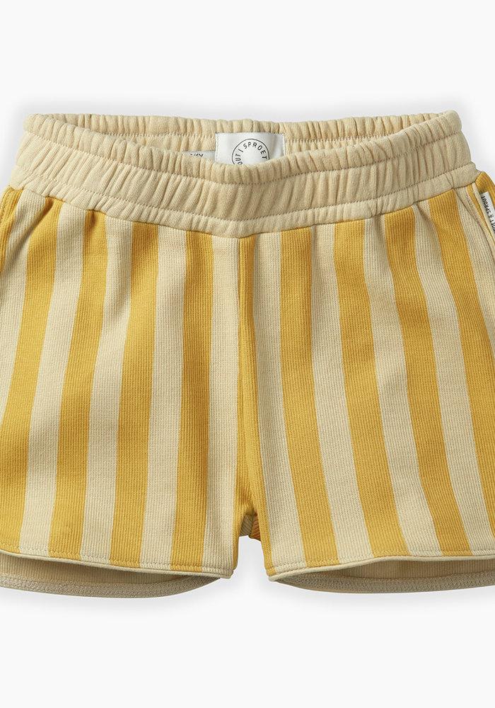 Sproet & Sprout Shorts Stripe Curcuma