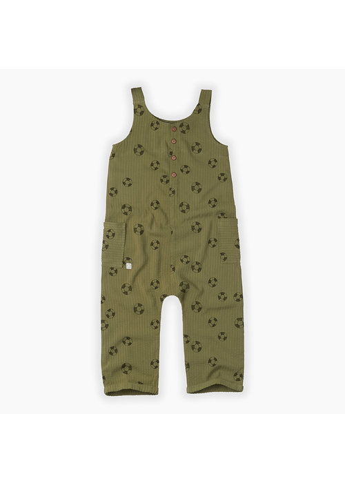 Sproet & Sprout Sproet & Sprout Jumpsuit Print Lifebuoy Tropical Green