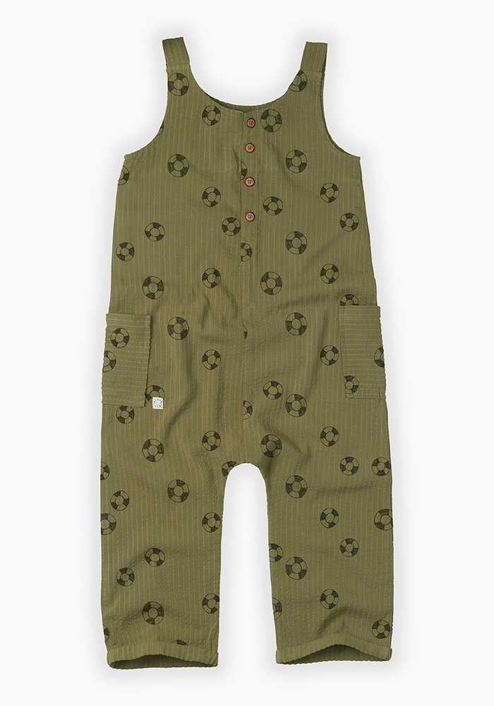 Sproet & Sprout Jumpsuit Print Lifebuoy Tropical Green