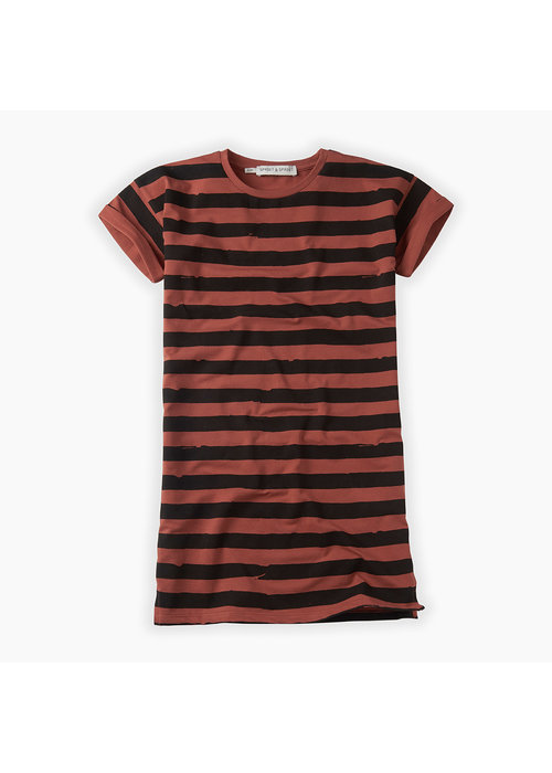 Sproet & Sprout Sproet & Sprout Dress Painted Stripe Mango