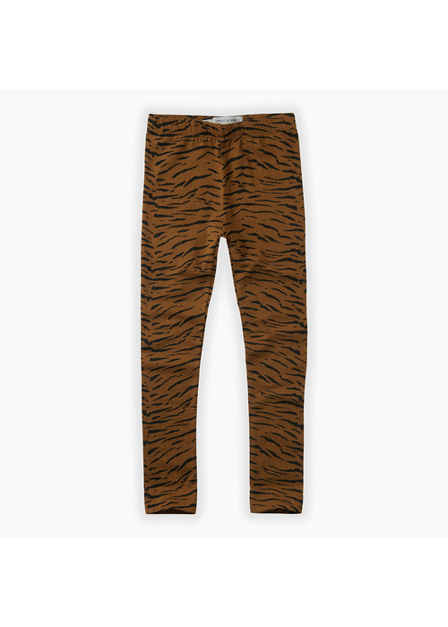 Sproet & Sprout Sproet & Sprout Legging Tiger Print Caramel
