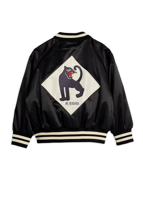 Mini Rodini Mini Rodini Panther Baseball Jacket Black