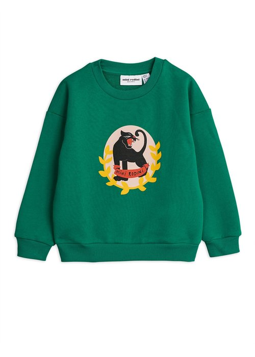 Mini Rodini Mini Rodini Badge SP Sweatshirt Green