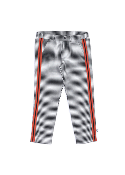 CarlijnQ CarlijnQ Chino with Stripes Mini Checkers