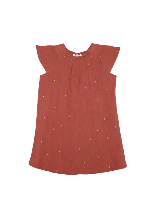 Soft Gallery Soft Gallery Dacia Dress aop Dotty Embroidery