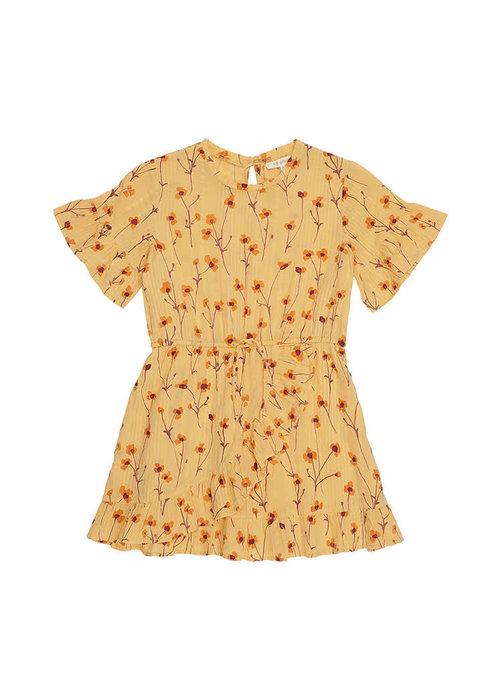 Yporqué Soft Gallery Dory Dress Golden Apricot Buttercup