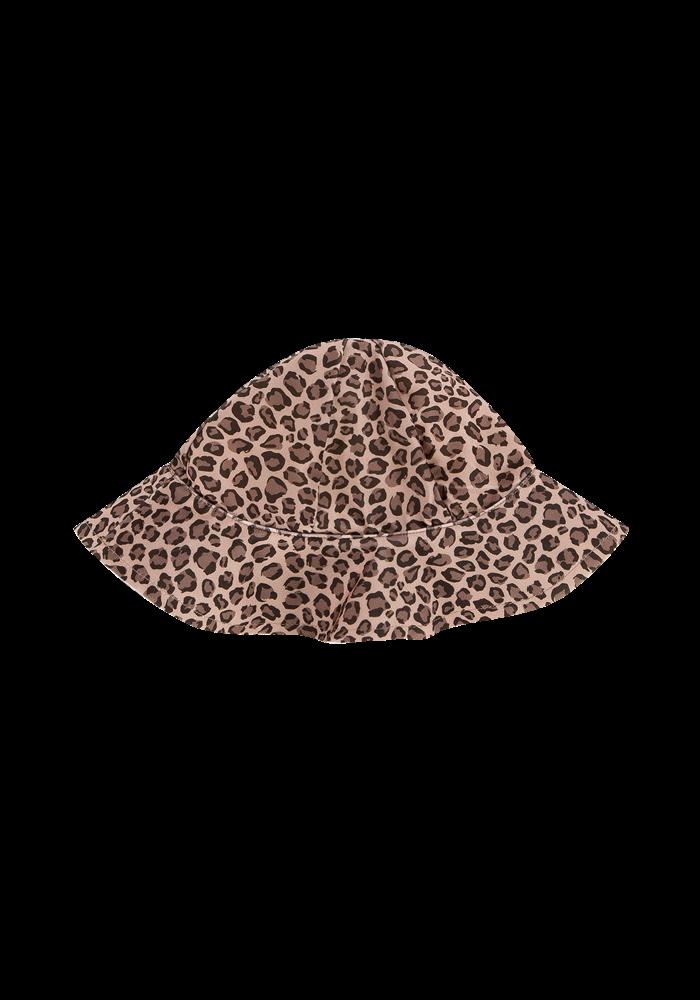 House of Jamie UV Swim hat Caramel Leopard