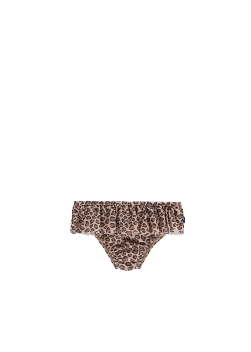 House of Jamie House of Jamie Fringe Bikini Bottom Caramel Leopard