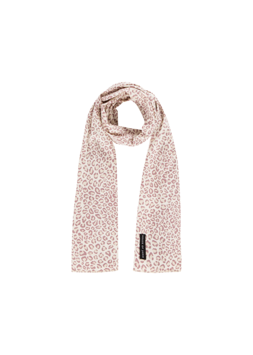 House of Jamie House of Jamie Long Summer Scarf Orchid Leopard