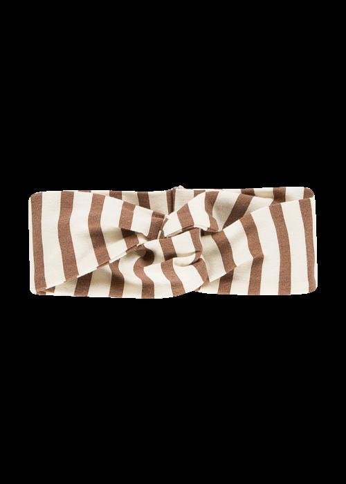 House of Jamie House of Jamie Turban Headband Toffee Stripes