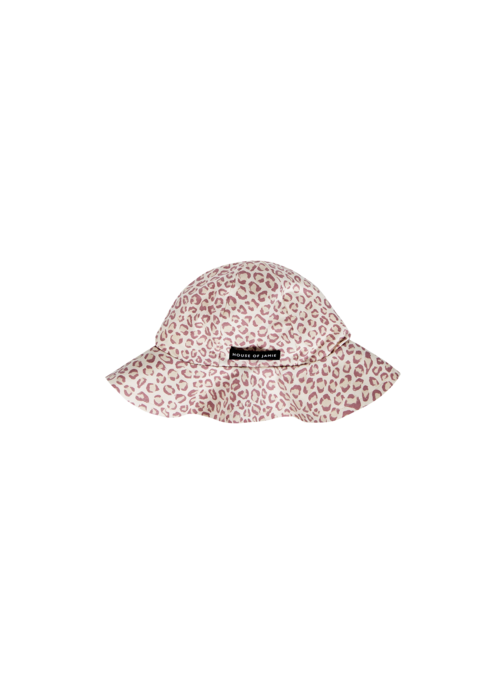 House of Jamie House of Jamie Summer Hat Orchid Leopard