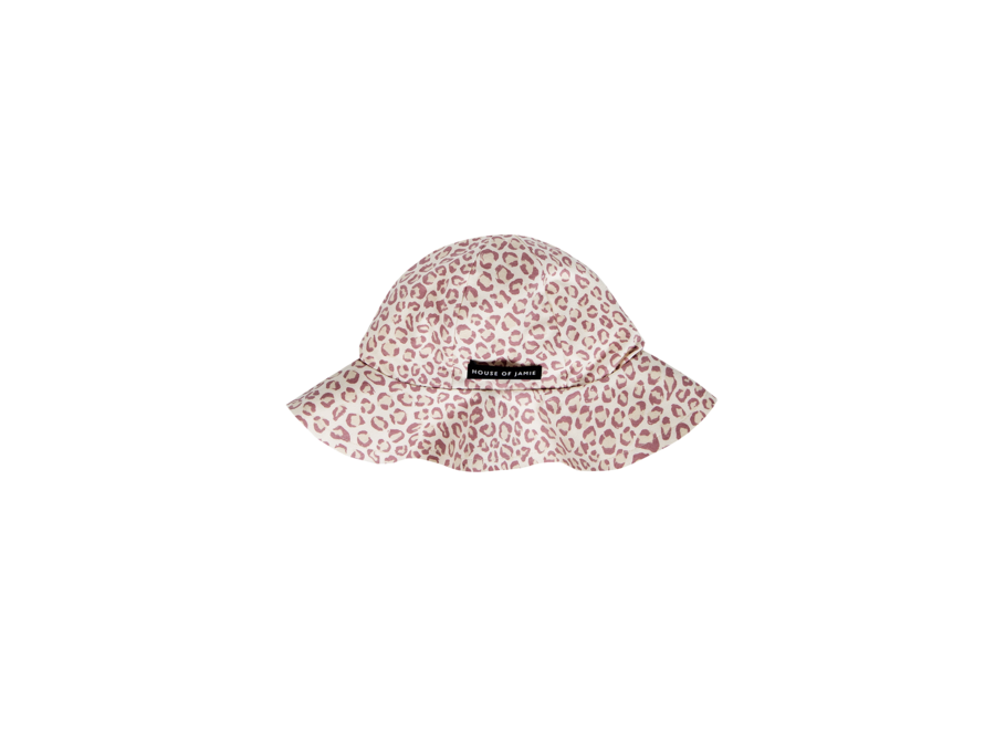 House of Jamie Summer Hat Orchid Leopard