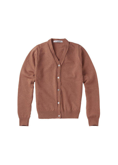 Mingo Mingo Cardigan Mid Brown