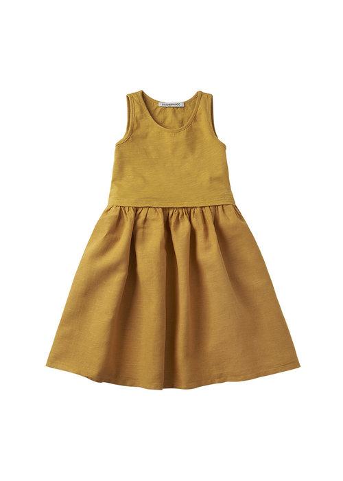 Mingo Mingo Sleeveless Dress Spruce Yellow