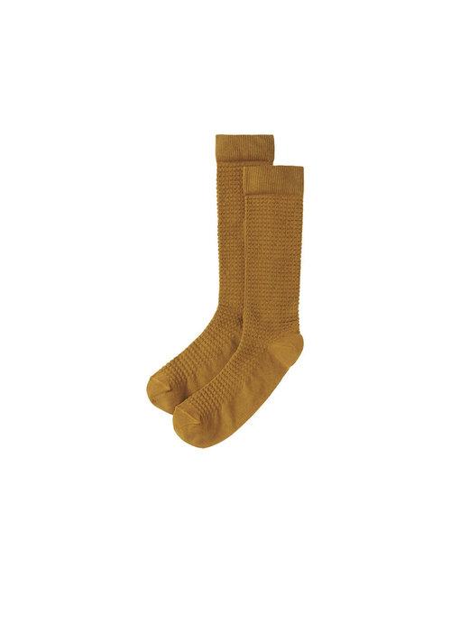 Mingo Mingo Knee Socks Spruce Yellow