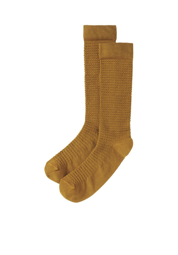 Mingo Knee Socks Spruce Yellow