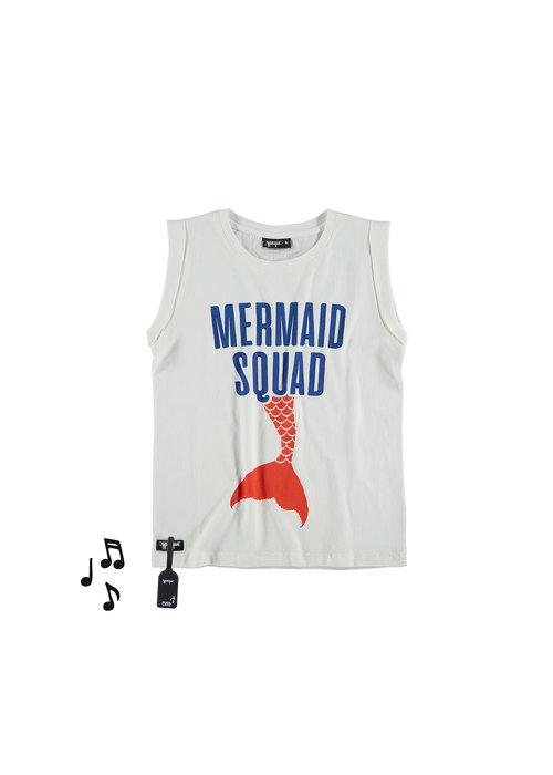Yporqué Yporqué Mermaid Fold Tee White