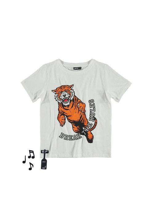 Yporqué Yporqué Tiger Tee White