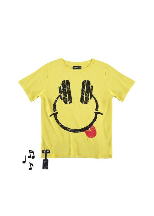 Yporqué Yporqué Headphones Tee Yellow