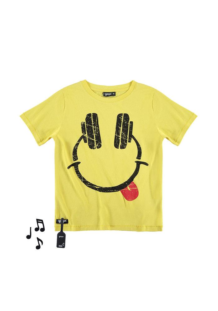 Yporqué Headphones Tee Yellow