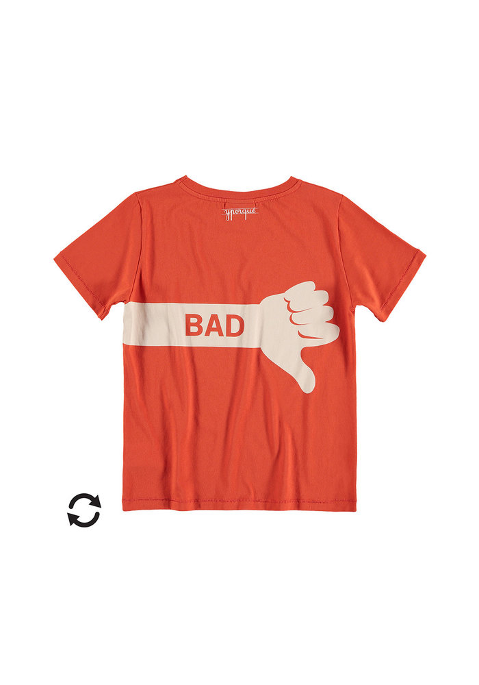 Yporqué Good & Bad Tee Orangered